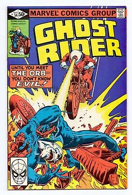 Marvel Comics: Ghost Rider #54 - 1981