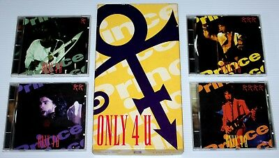 Prince - Only 4 U - Rare 4 Cd Box Set - Outtakes & Rehearsal - Italy 1993 - Npg