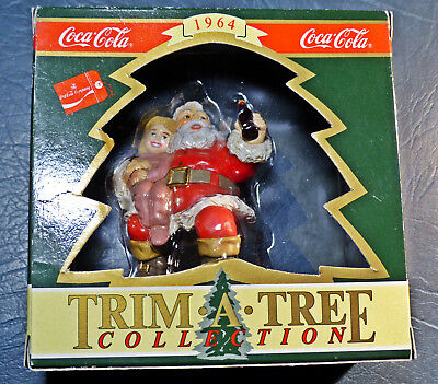 Vintage 1994 reproduction of a1964 Coca Cola ornament, Trim-A-Tree Collection
