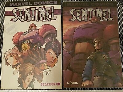 xmen sentinel marvel mini monster serie complete tome 1 et 2