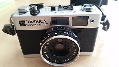 Yashica Electro 35 FC film camera Excellent Condition with case