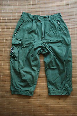 NORRONA FIRST LOGO Cotton Lined 3/4 Pants M Trousers Forest Hunting shooting