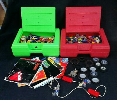 Knex Massive Bundle - Two Large boxes-Hundereds of pieces