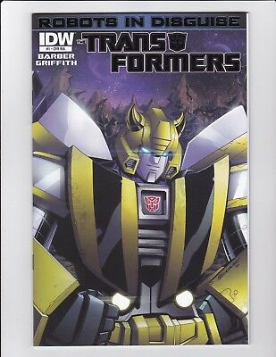 Transformers Robots In Disguise #1 Gatefold 1:10 Foil Variant Ria Vf/nm Idw 2012