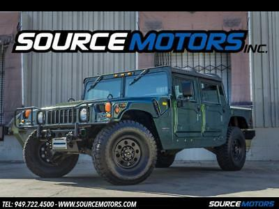 2000 Hummer H1 Open Top 2000 Hummer H1 Open Top, Turbo Diesel, Leather Seats, CTIS, 4X4, Serviced
