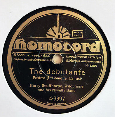 Harry Sculthorpe Novelty Band - The debutante / The March of the Marionettes