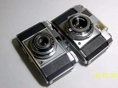 Zeiss Contina-2 Cameras-With Carrying Cases