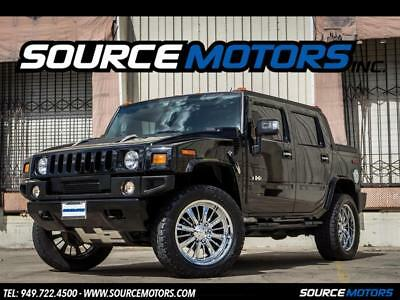 2008 Hummer H2 SUT Luxury 2008 Hummer H2 SUT, 30K Miles, Viper, Navigation, Bluetooth, DVD, Sunroof
