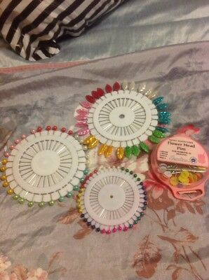 Collection Of New Sewing Pins