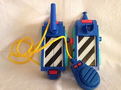 2 Vtg. Real Ghostbusters Ghost Traps Columbia Pictures 1989  1 Working, 1 Parts