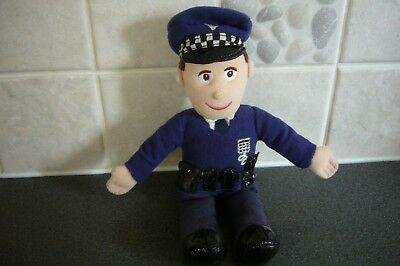 """Balamory - 8"""" musical PC Plum soft toy - clean - batteries included"""