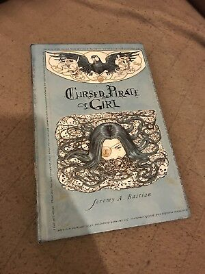 Cursed Pirate Girl HC by Jeremy Bastian (Archaia) Out of Print