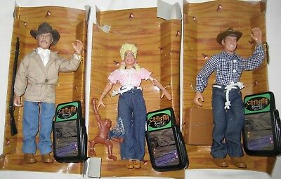 Beverly Hillbillies Dolls  Jethro Bodine, Jed,  Ellie May Clampett