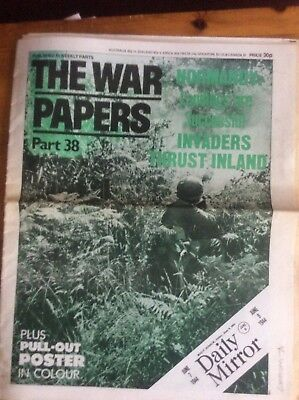 the war papers collection Issues 38 And 39, Normandy And V1