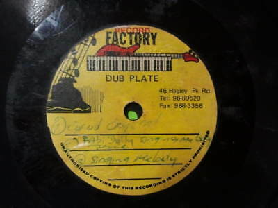 Og Record Factory Dubplate Singing Melody (Wicked Singer) Conrad Crystal Listen