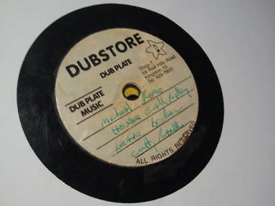 OG DUBSTORE DUBPLATE MICHAEL ROSE / CUTTY RANKS / BLACKA SHINE ? KIRK ? Listen !