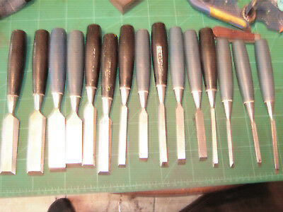 15 stanley and other make chisels