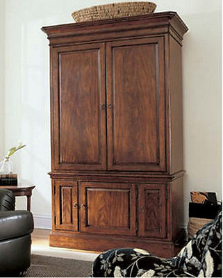 Thomasville Furniture Irving Park Bedroom Armoire/Wardrobe/TV FREE SHIPPING
