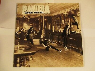 "PANTERA  ""Cowboys From Hell"" original 1990 Lp.  Mint. e Ex ++"