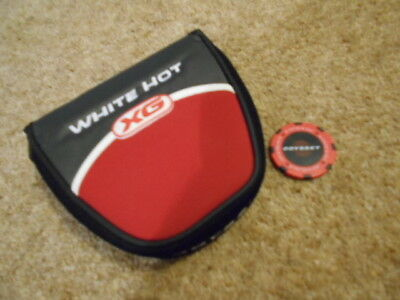 Odyssey White Hot XG Magnetic Putter Head Cover with Original Ball Marker