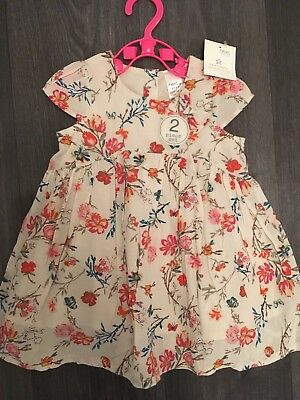 Next Baby Girl 0-3 Dress New With Tags