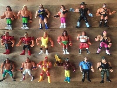 WWF Hasbro 1990's Wrestling Figures Job Lot 18 Figures