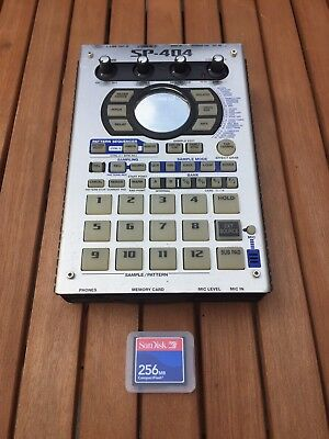 Roland Sp 404 Portable Power-Sampler With Fx Plus Power Lead And Memory Card