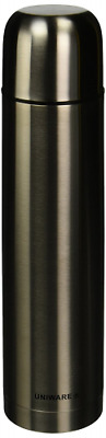 1 Liter Vacuum Coffee Bottle Stainless Steel Thermos Handles Cleans Easy Store