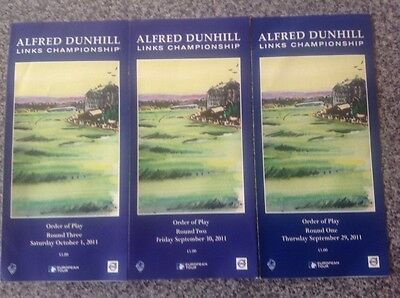 Alfred Dunhill Golf Links Championship 2011