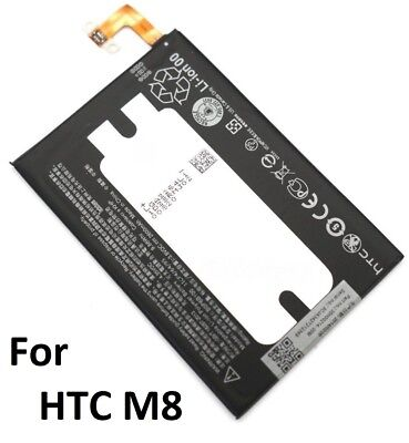 For HTC One M8 2600mAh Replacement Internal Battery New BOP6B100