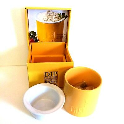 Gourmet Du Village Dip Chiller Bistro Collection Yellow Dip Mix is Not Included