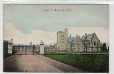 SHANES CASTLE: Co Antrim Northern Ireland postcard (C31739)