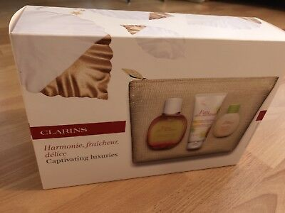 Clarins Gift Set; Eau De Jardins Captivating Luxuries
