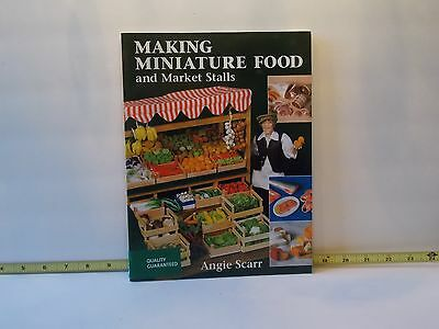 Making Miniature Food And Market Stalls Angie Scarr DIY Dollhouse Miniatures