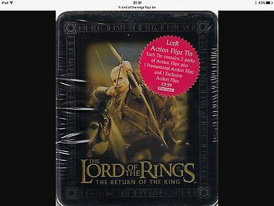 Lord Of The Rings Return Of The King Action Flipz Tin By Artbox