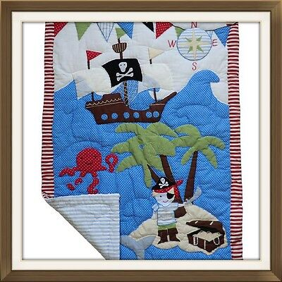 Powell Craft Pirate Bed Quilt