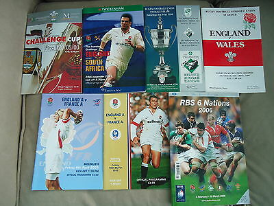 Rugby Union Programmes (Various)