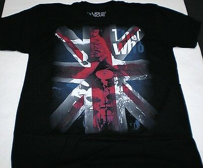 Brand New Men's The Who Pete Townshend Classic British Rock  T-Shirt Large