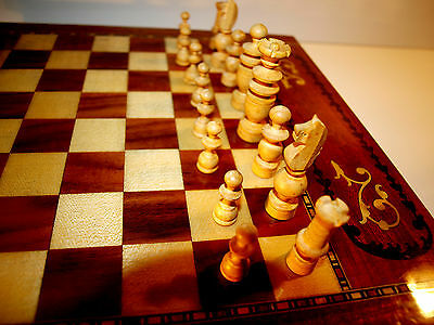 Schach French Chests Classic Chess ca. 1940