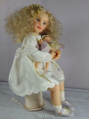 Fairy Doll Resin Beautiful With Baby