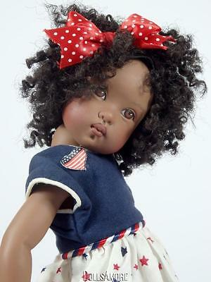 "Helen Kish 1999 Doll 12"" Liberty Belle Sold As Shown"