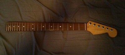 Fender style guitar neck project