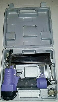 Central Pneumatic Air Brad Nailer Contractor Series with case