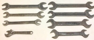 Jaguar XK150 & Other Old British Tools Wrenches/Spanners From Our Cars When New