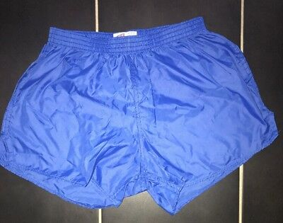 Nylon Glanz Shorts Sprinter Pe FootBall Vintage Gym Swim Sexy Retro Running