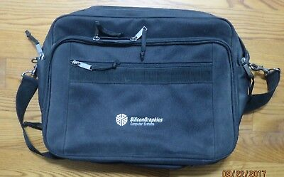 "Silicon Graphics Computer Systems SGI logo  ""Vintage"" Computer Bag/Briefcase EUC"