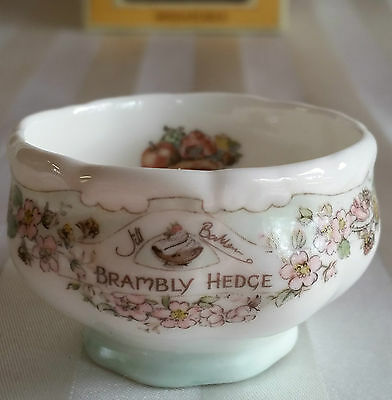"Royal Doulton Brambly Hedge Rare ""miniature Sugar Bowl"" Tea Service Nib"