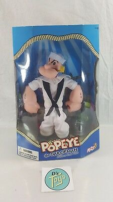 """~ Popeye the Sailorman 12"""" Action Figure Variant Navy Outfit MEZCO New L@@K!"""