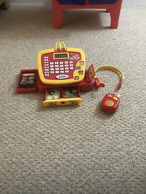 mcdonalds play set/ cash register/till