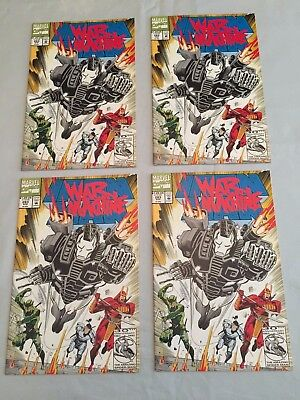 Marvel Iron Man #283 NOS Unread Lot of 4 2nd appearance War Machine 1992